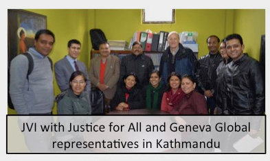 Meeting with Justice4All and Geneva Global